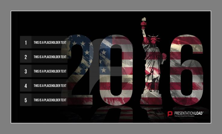 Have a great start for 2016 in american flag design freetemplates free powerpoint templates 2016 twelve powerpoint templates with year dates pictures and new years resolutions for free how about your new years toneelgroepblik Gallery