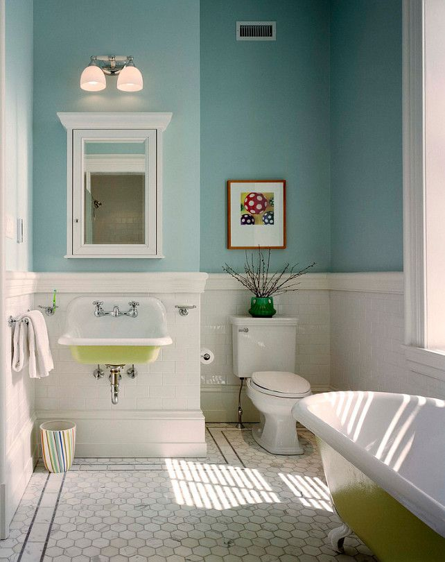 Benjamin Moore Turquoise Colors Benjamin Moore Summer Shower 2135 60 Benjaminmoore Small Bathroom Remodel Bathroom Design Small Traditional Bathroom Designs