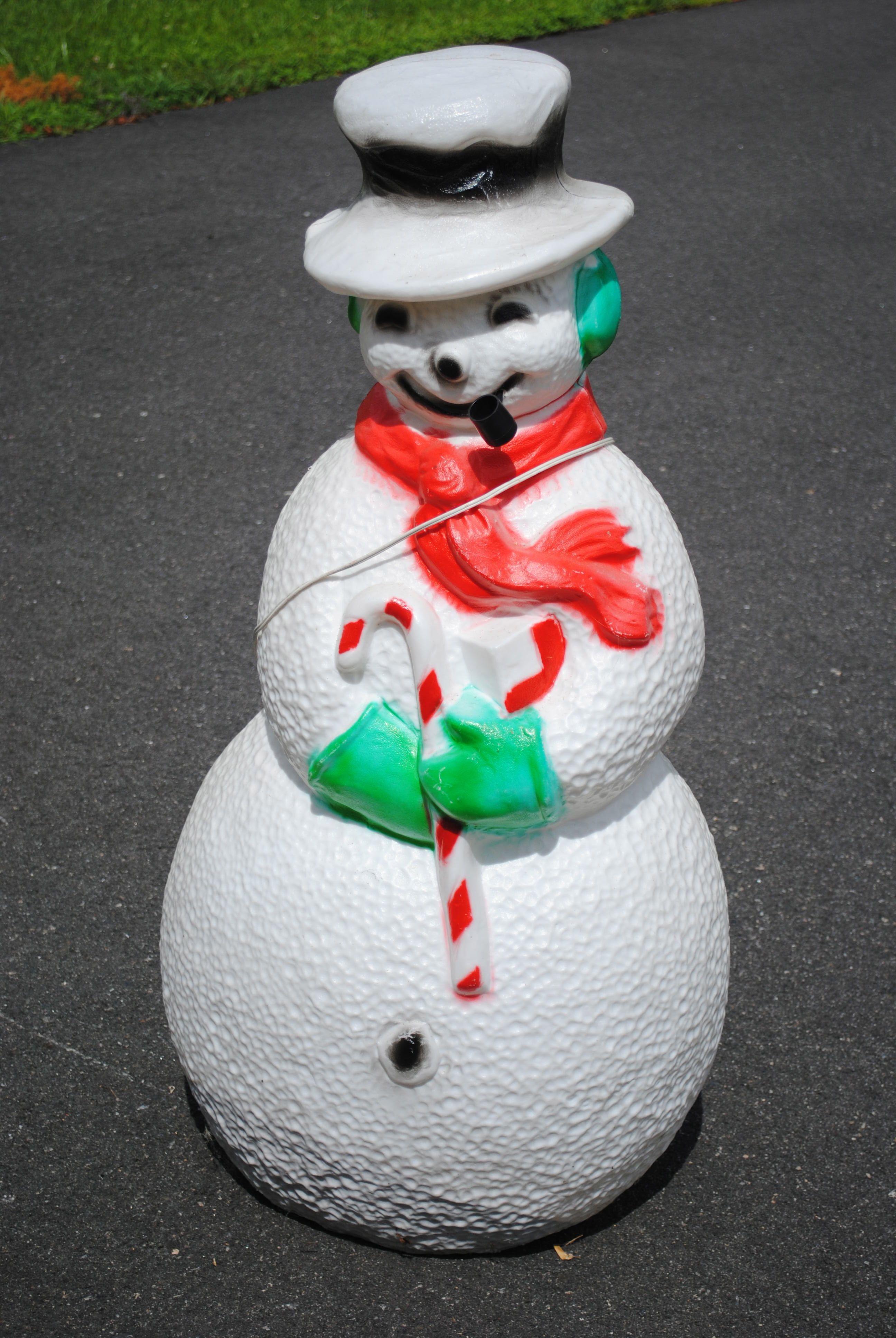 Union blowmold Snowman 40