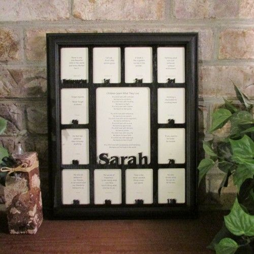 School Years With Name Graduation Collage K 12 Clockwise Picture Frame And Matte 11x14 School Years Picture Frame Picture Frame Display Picture Frame Crafts