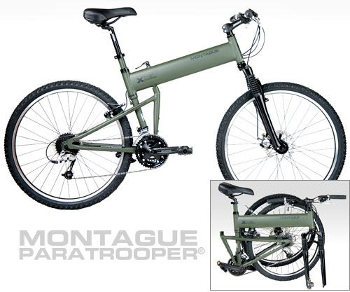 Swiss Bicycle Paratrooper By Montague Great Outdoors
