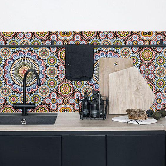 les 25 meilleures id es de la cat gorie papier peint maroc sur pinterest tapis de salle de. Black Bedroom Furniture Sets. Home Design Ideas