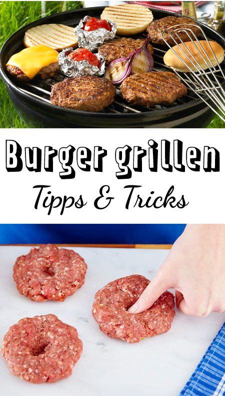 Burger grillen – so werden sie perfekt #grilleddesserts