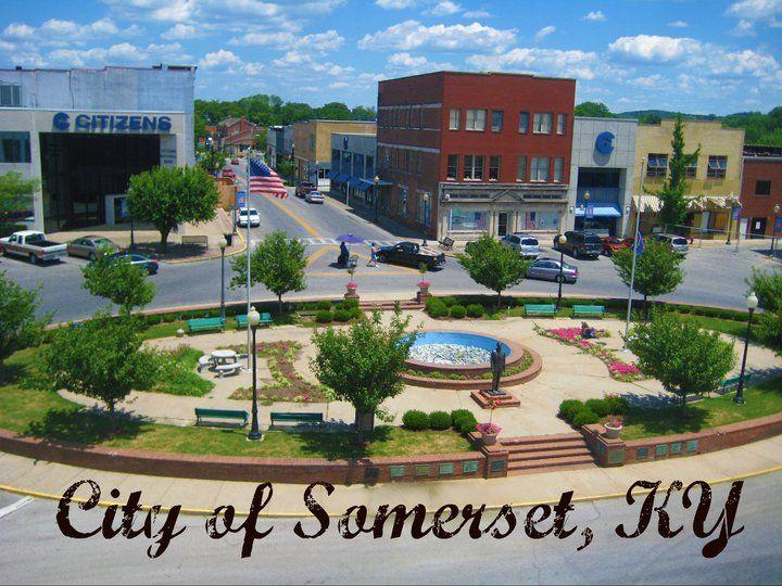 Somerset Ky Usa Kentucky Pinterest Somerset Fountain Square