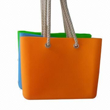 Eco-friendly silicone beach leisure bag, washable and good-looking, OEM orders are accepted