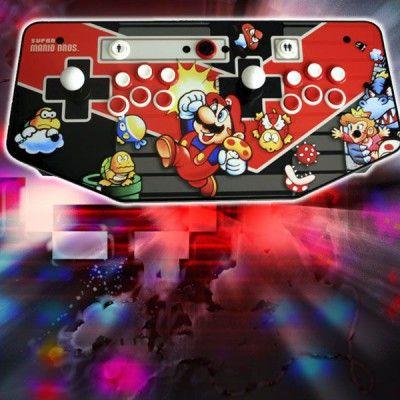 Consola Arcade Retro V2 5 Raspi3 Hdmi 2 Jugadores Modelo Sonic Maquinas Arcade Recreativas Personalizadas