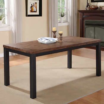 Geona Dining Table Dining Table Solid Wood Dining Table Traditional Dining Tables