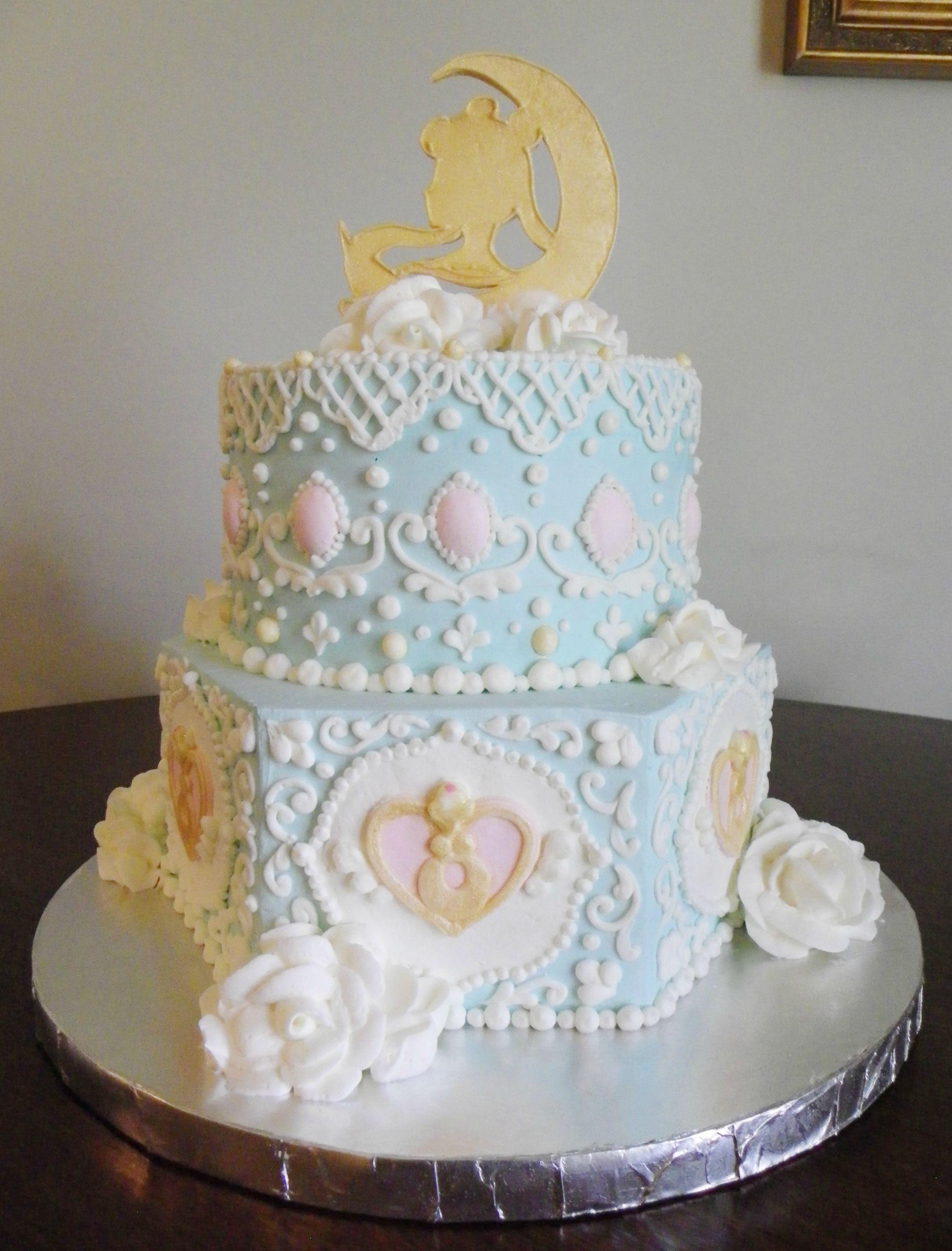 2d0b04bc7852 Rococo Sailor Moon Cake http   www.reddit.com r . Read it