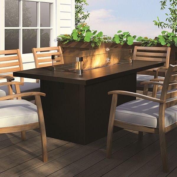 Patio Patio Table Rectangle Firepit Google Search Dream Patio - Rectangle patio table with fire pit