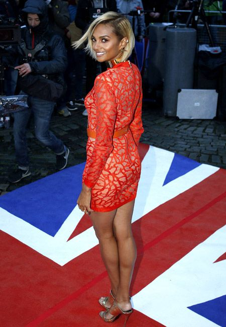 Alesha Dixon debuted a brand new hairstyle at the BGT auditions in Liverpool [Flynet]