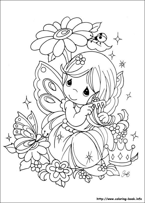 Precious Moments coloring picture | de colorat pentru copii ...