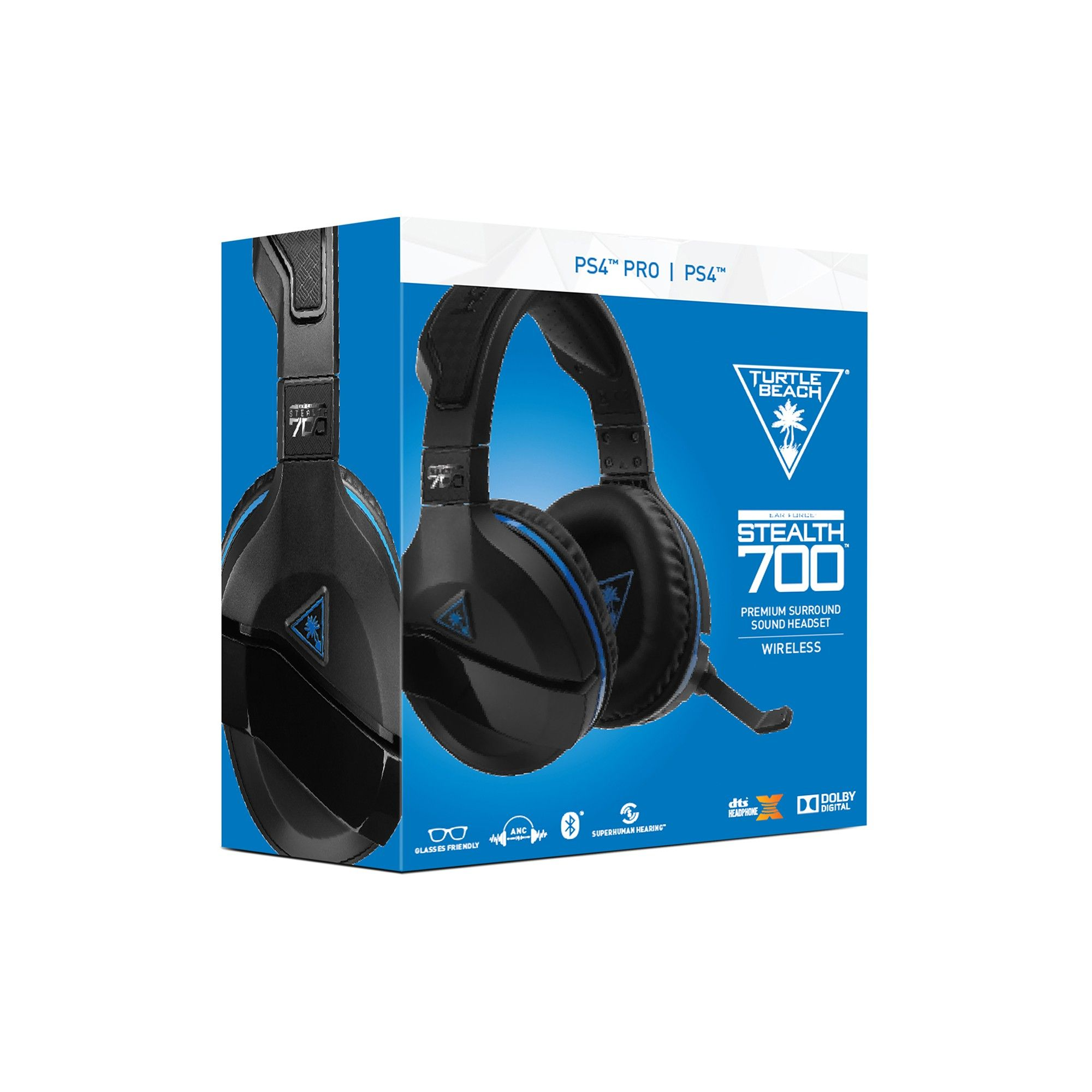 Turtle Beach Stealth 700 Premium Wireless Surround Sound Gaming Headset For Playstation4 Pro And Playstation4 Wireless Surround Sound Gaming Headset Headset