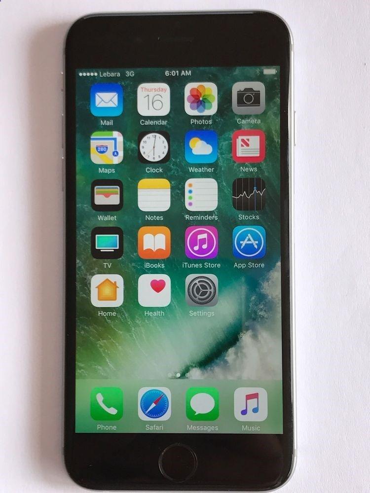 size 40 5848e 23abc Unlocked Smartphones - Apple iPhone 6 - 128GB - Space Grey (Unlocked ...
