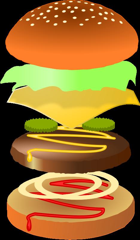 Hamburger Clipart Clip art