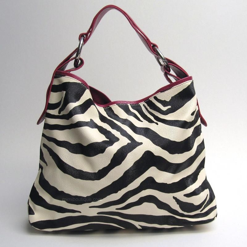 Zebra Print Handbags Click Here To See All Of Our Giraffe And