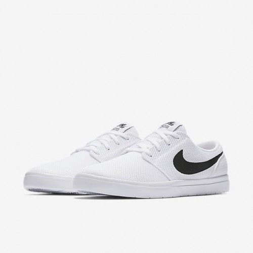 ea3a4eac42bfb2 Nike SB Portmore II Ultralight Mens Skate Shoes 11 White Black Red  Nike   SkateShoes