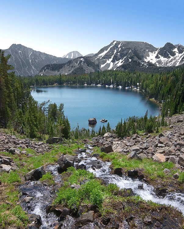 Places To Visit In Montana Usa: Sailor Lake, Tobacco Root Mountains, Madison County, MT
