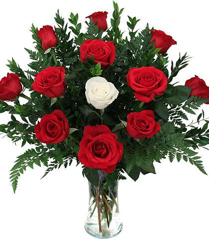 My One True Love Flower Delivery White Roses Same Day Flower Delivery