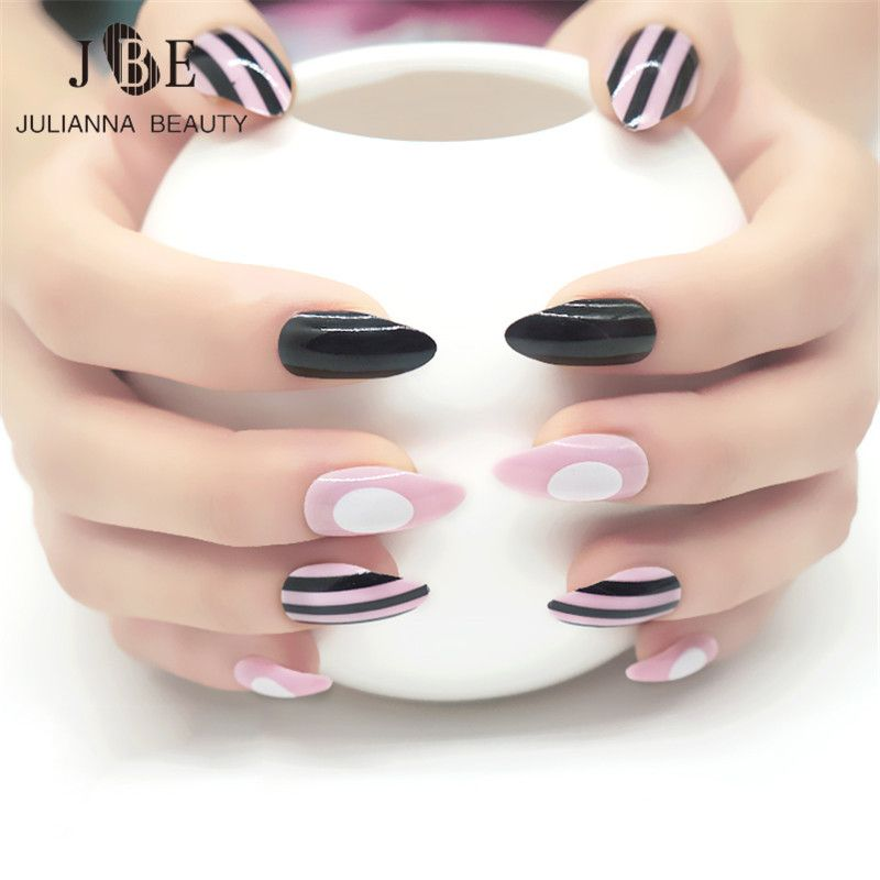 Unas Postizas Quality Almond Nails Directly From China Tips Natural Suppliers Pre Design Artificial Nep Nagels Nail
