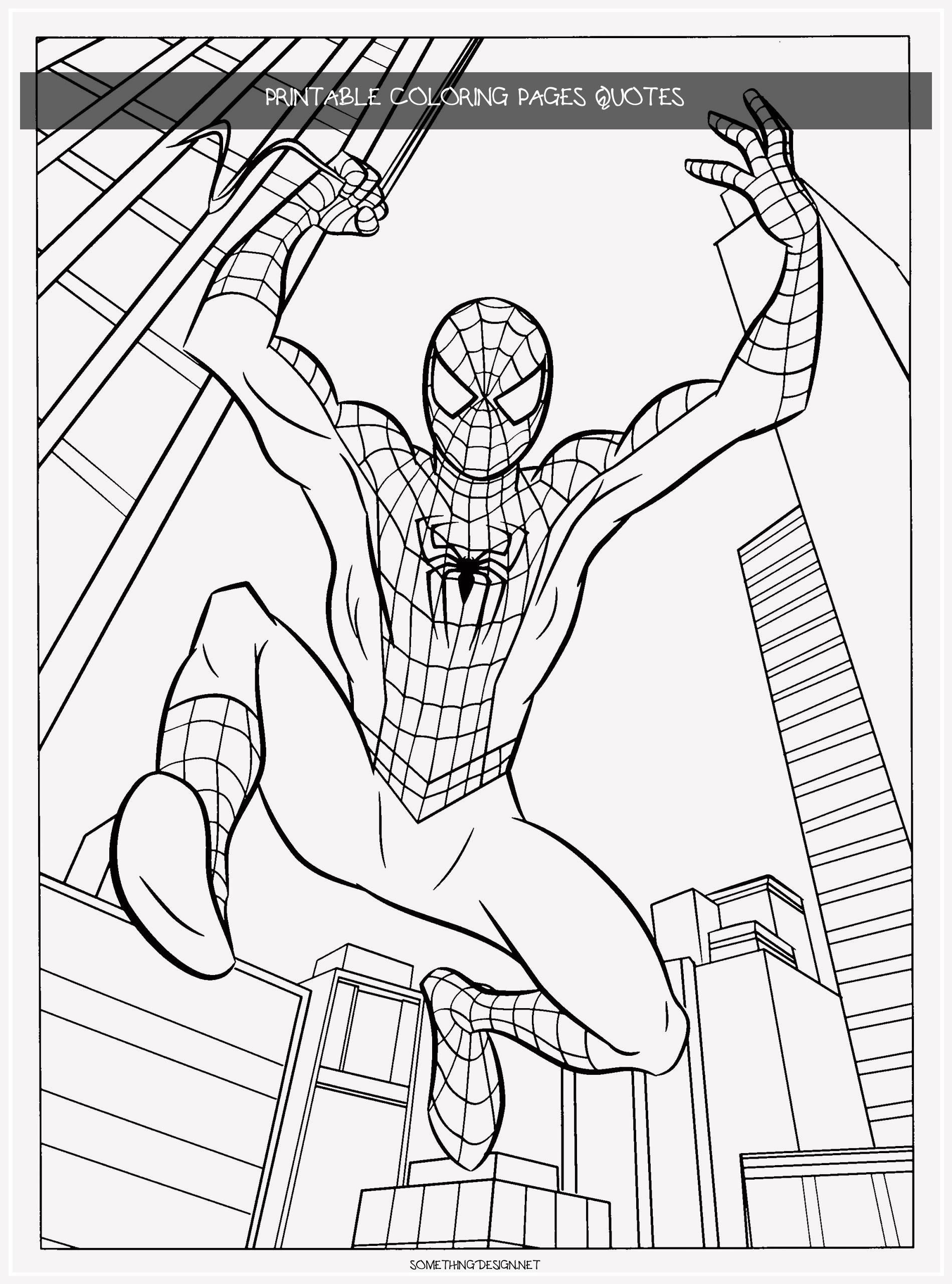 14 Printable Coloring Pages Quotes Superhero Coloring Pages Batman Coloring Pages Avengers Coloring Pages