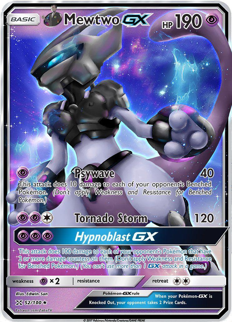 Giovanni S Armored Mewtwo Gx Custom Pokemon Card Pokemon Cards Legendary Pokemon Mewtwo Cool Pokemon Cards