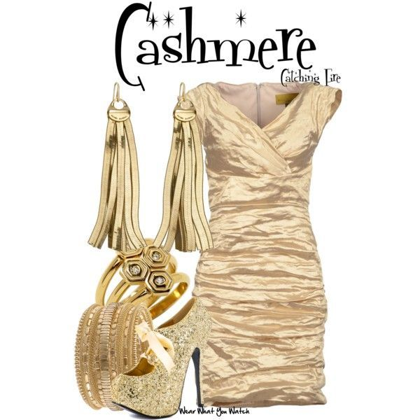 BY REQUEST -Inspired by Stephanie Leigh Schlund as Cashmere in 2013's Catching Fire - Shopping info!