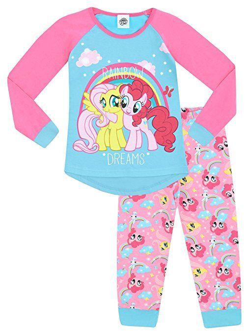 Mein Kleines Pony M/ädchen My Little Pony Nachthemden