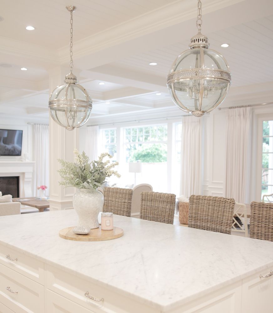 Bright White Home of JS Home Design | Bright, Kitchens and House