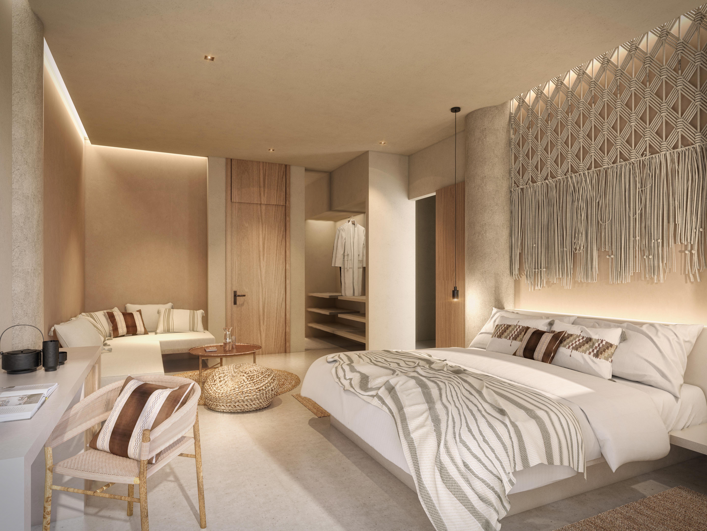 Rooms Suites At Hotel Amapa Puerto Vallarta ห องนอน