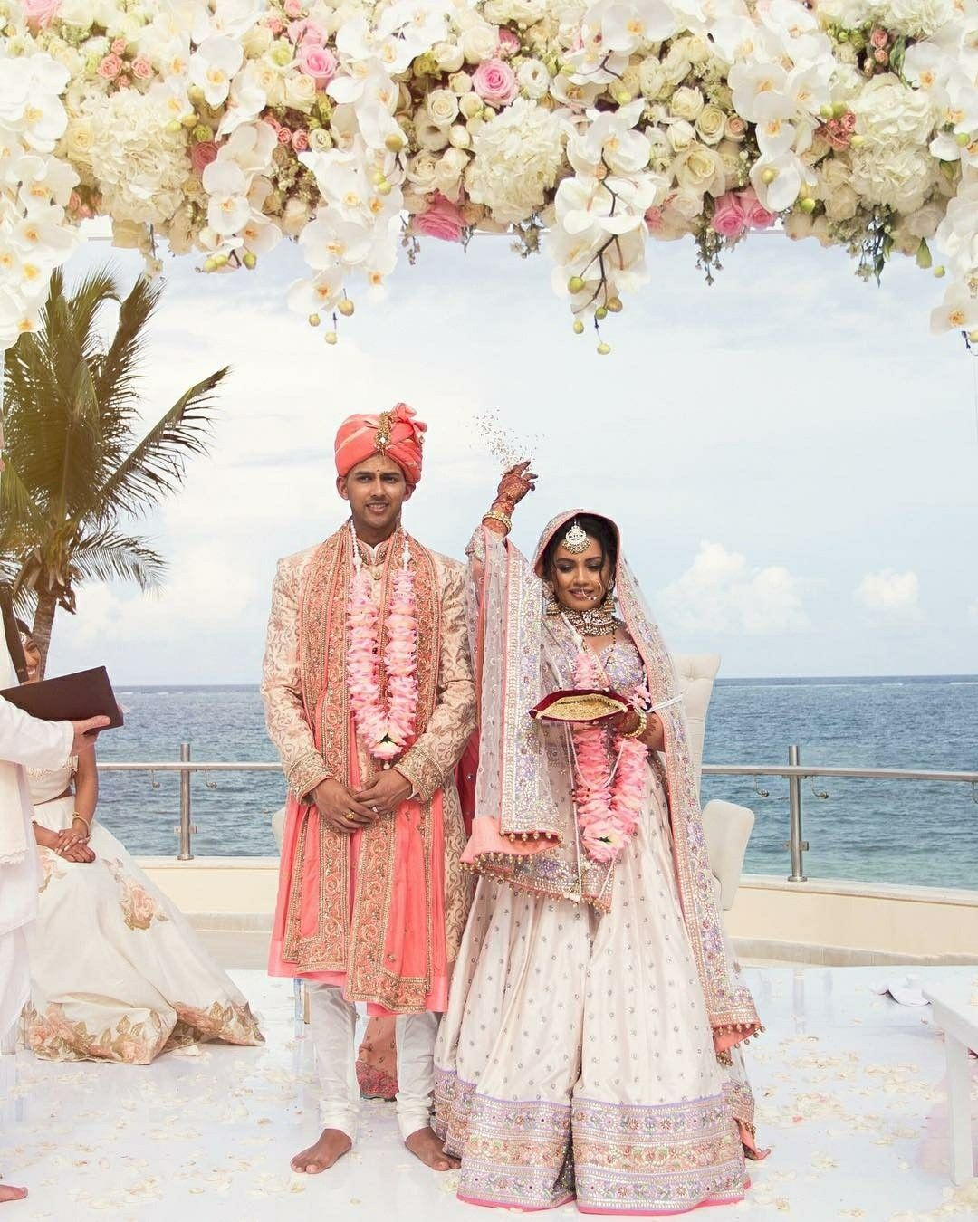 c23de15ef8 Indian beach wedding   Indian things in 2019   Indian beach wedding ...
