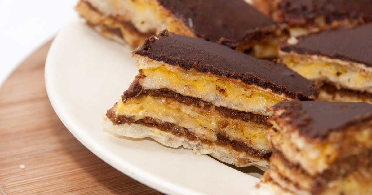 حلى بسكوت الشاي Recipe Desserts Food Deserts