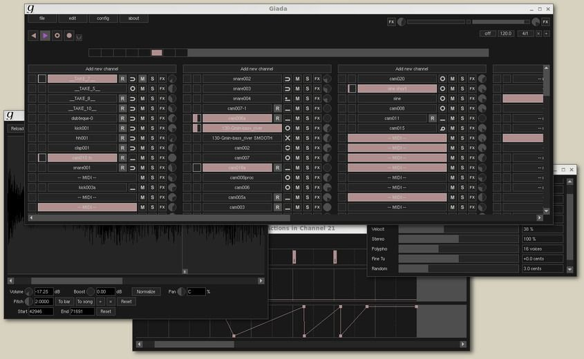 Photo of Giada – Sound and Music Editing Software