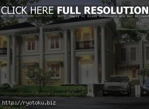 1080 Desain Pagar Minimalis Desain Rumah Mewah Klasik Gaya Amerika