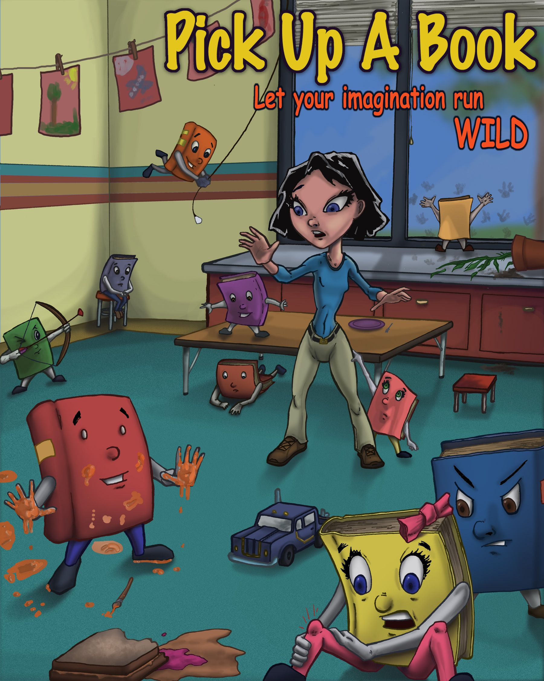 Pick Up A Book: Let Your Imagination Run Wild  http://www.olioport.com/adam-thas/