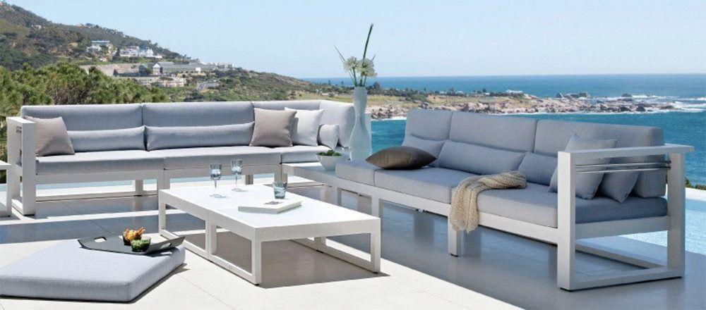 Jaavan Pure Aluminum Sectional Lounge