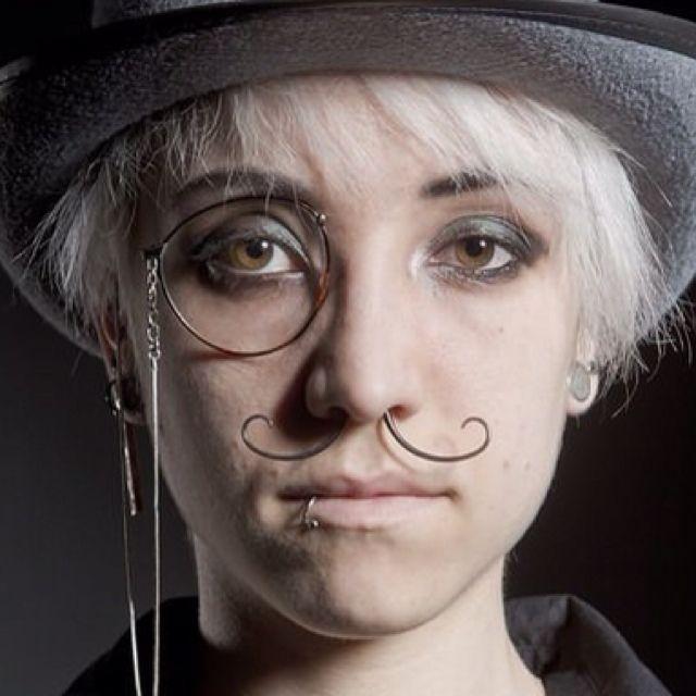 Septum Mustache Piercing 3 Cool Piercings Piercings Septum
