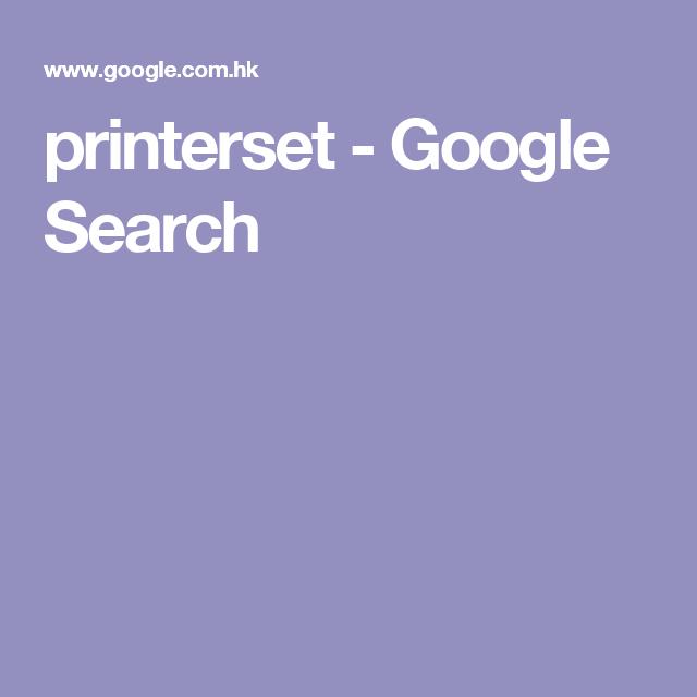 printerset - Google Search