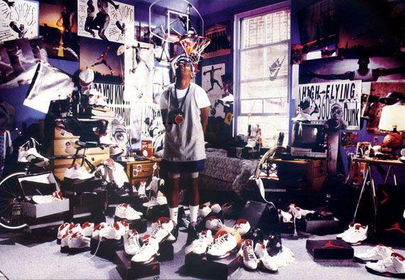new arrival 16abd bc856 Michael Jordan + Spike Lee Vintage Nike Air Jordan Ads