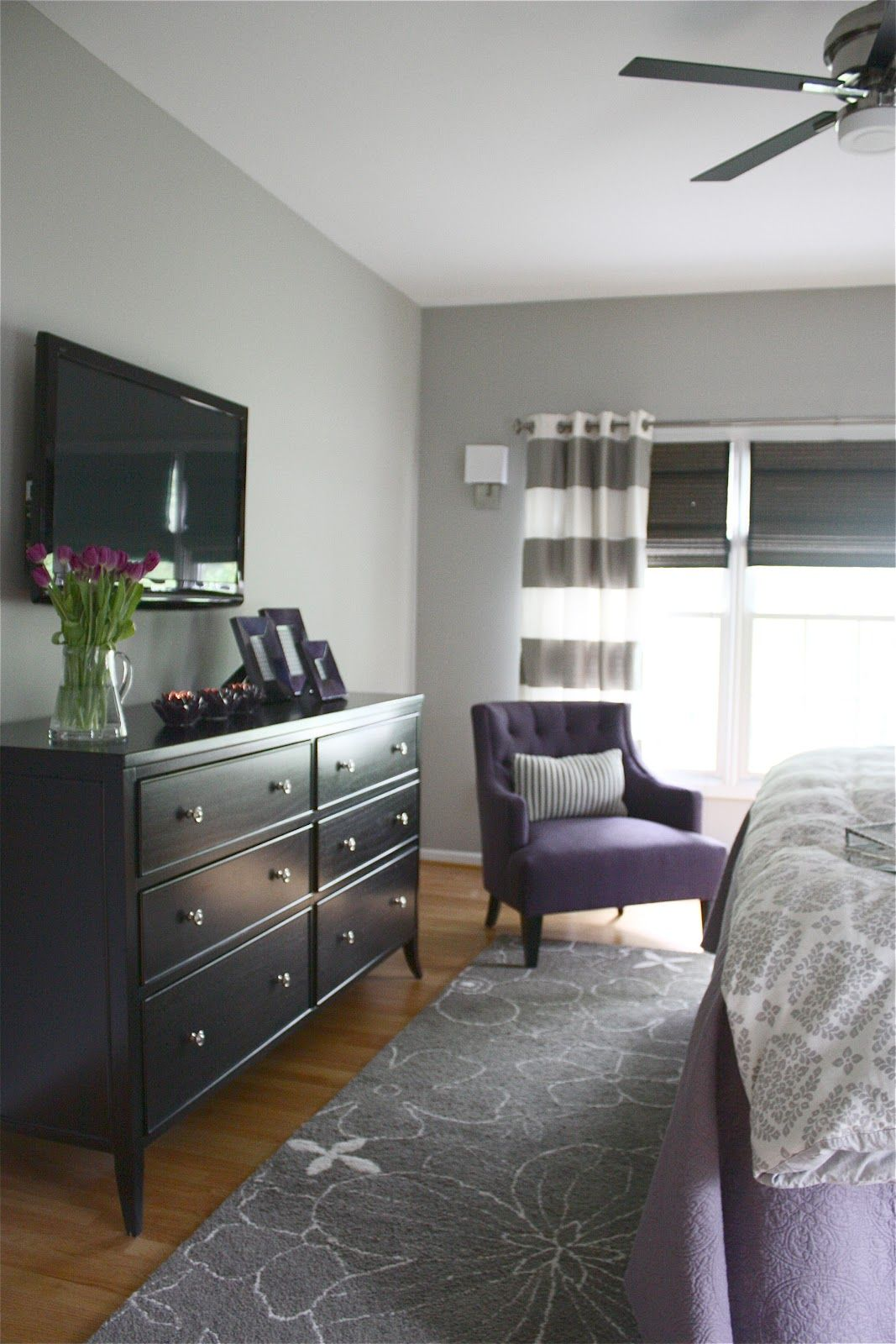 the yellow cape cod: dramatic master bedroom makeover~before and