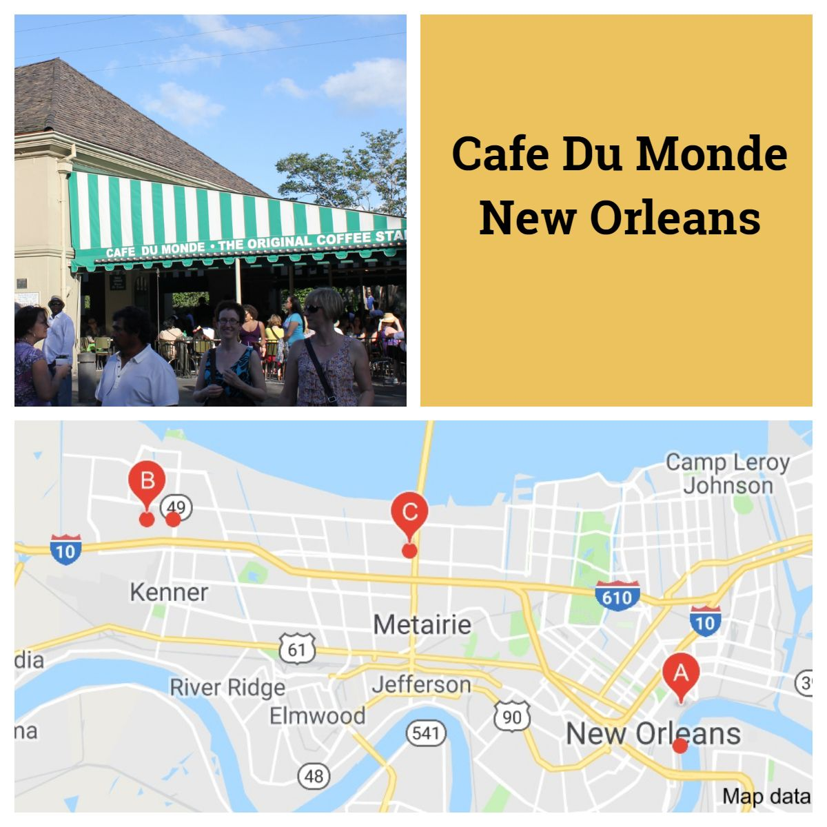 Cafe Du Monde Cafe Du Monde Road Trip Fun Cafe Du Monde Coffee