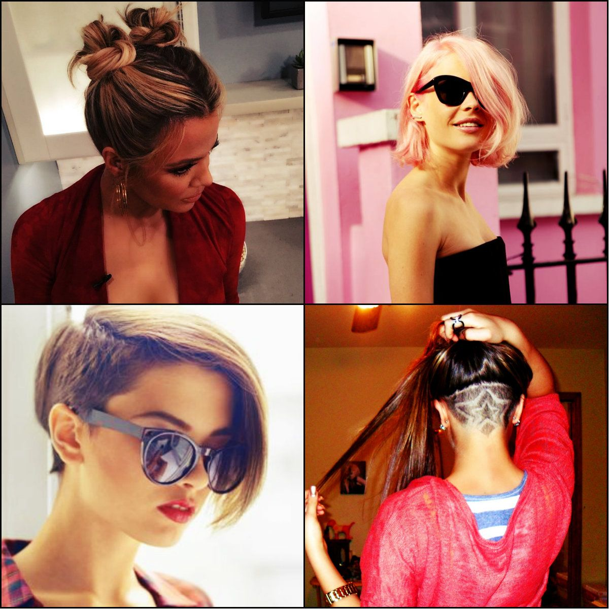 Cool Best Back To School Hairstyles 2016 2017 Couleurs Et Coupes De Short Hairstyles Gunalazisus