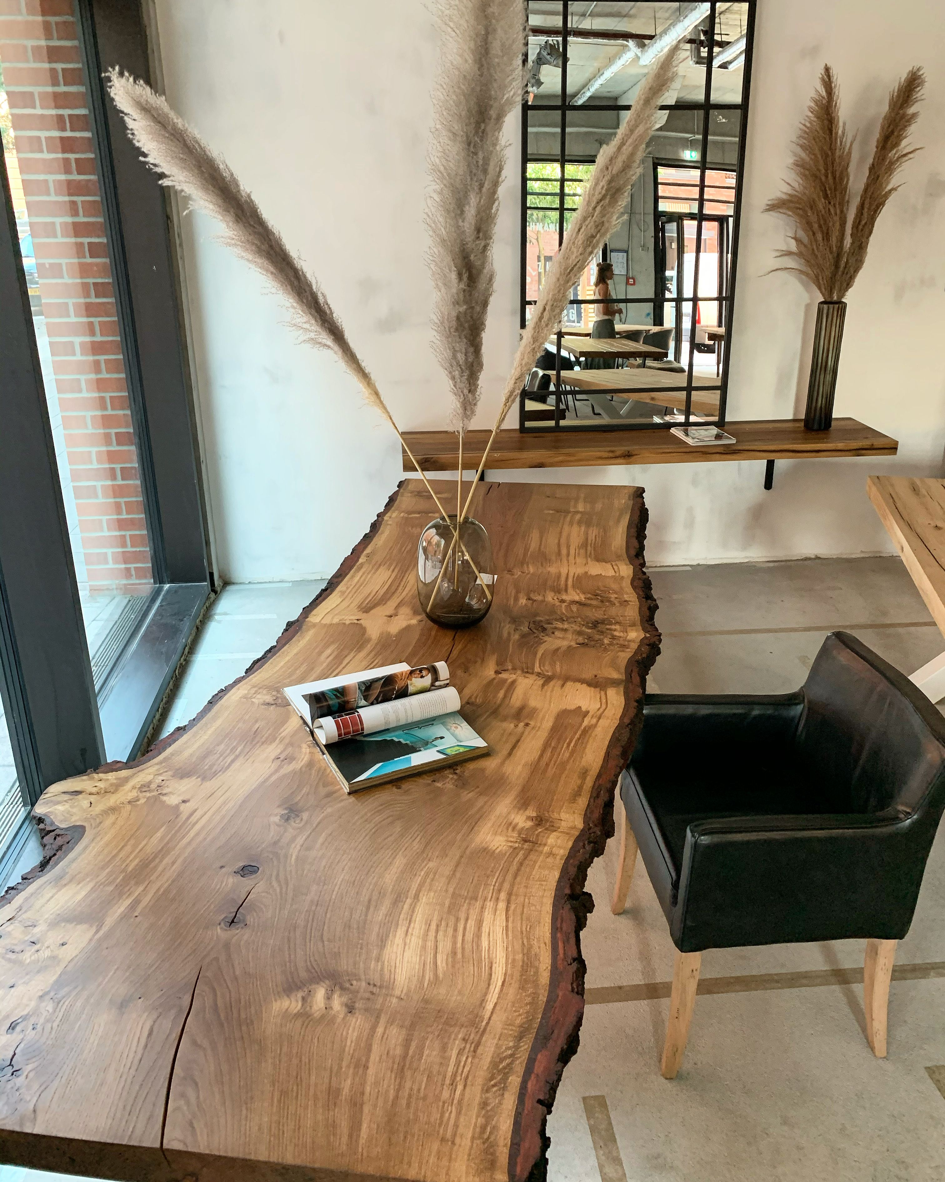 Monolith Esstisch aus einem Stück Eichenholz   Holzesstische ...