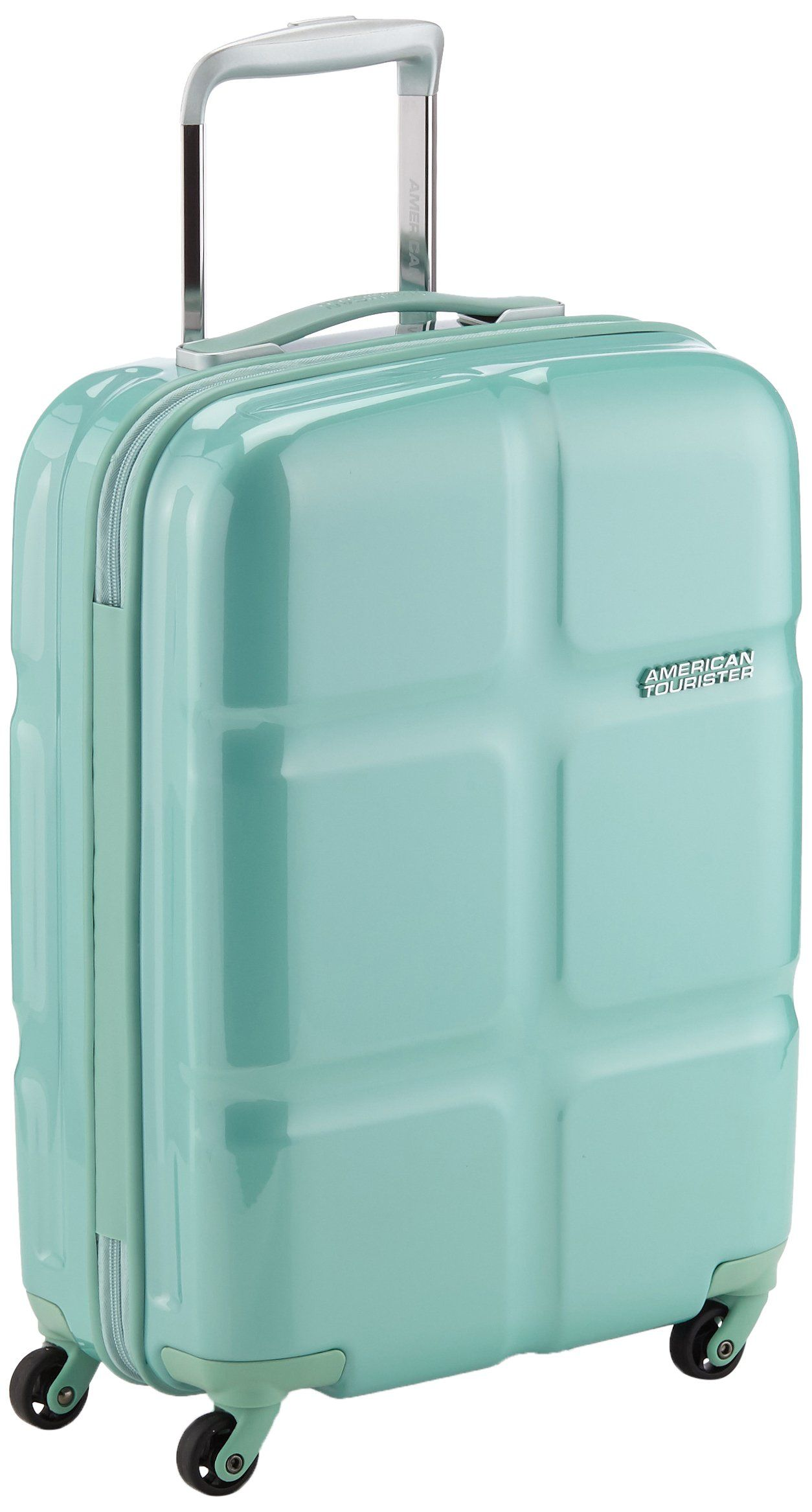 1ca9770e5 American Tourister Suitcase, 55 cm, 30 Liters, Mint Green: Amazon.co.uk:  Luggage