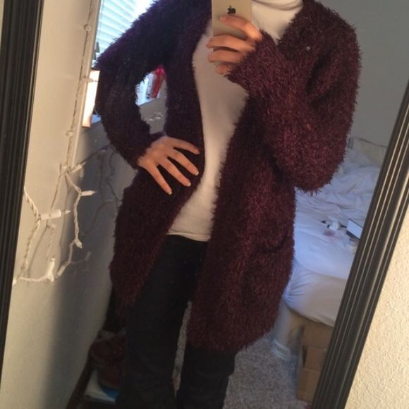 New look fuzzy cardigan very warm and cozy!! like new New Look Tops