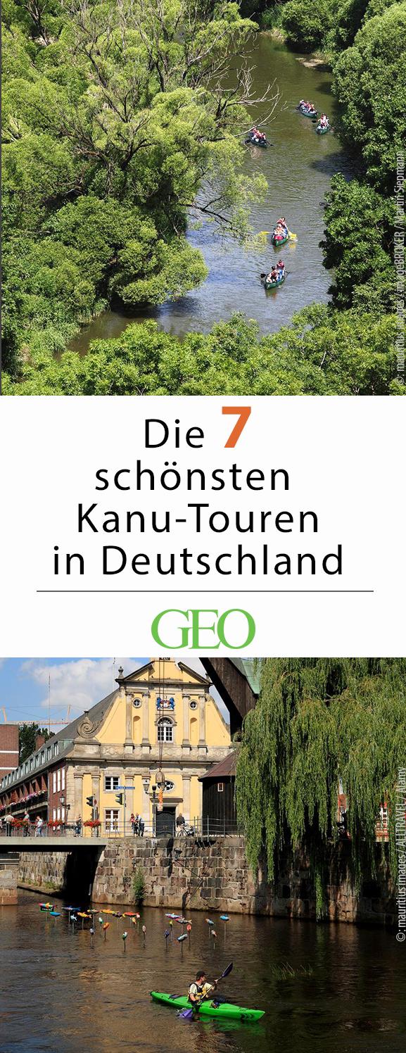 Photo of Kanutouren in Deutschland: sieben Ideen
