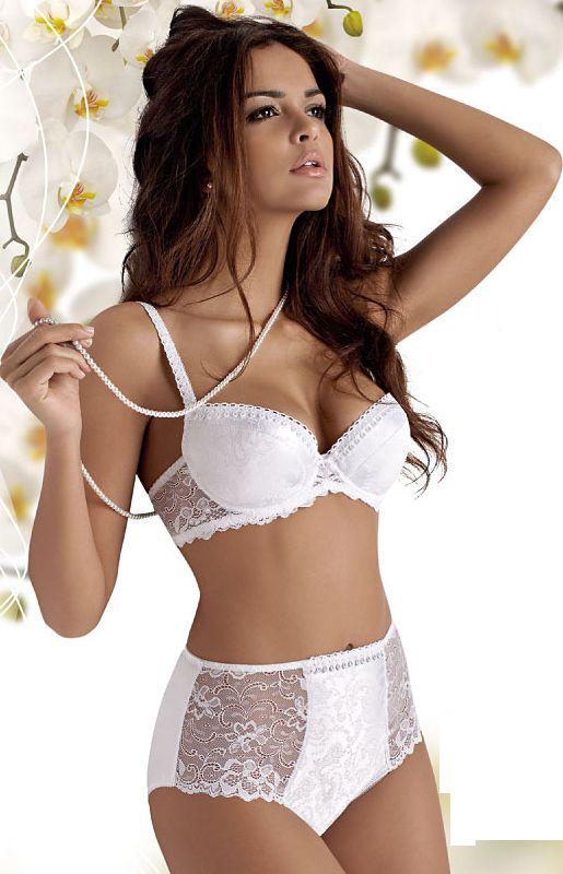 076c4b1cbb0502 white high waist panties and bra set   sexy secrets   Damenwäsche ...