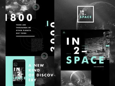IN 2 – SPACE // Branding Deck