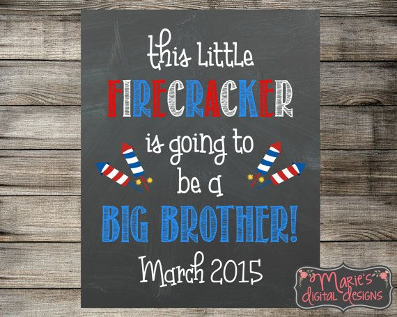 PRINTABLE This Little Firecracker Is Going To Be A Big
