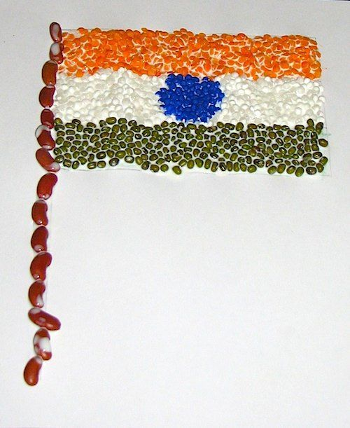 Create A Tiranga Craft The Flag Of India Social Studies India
