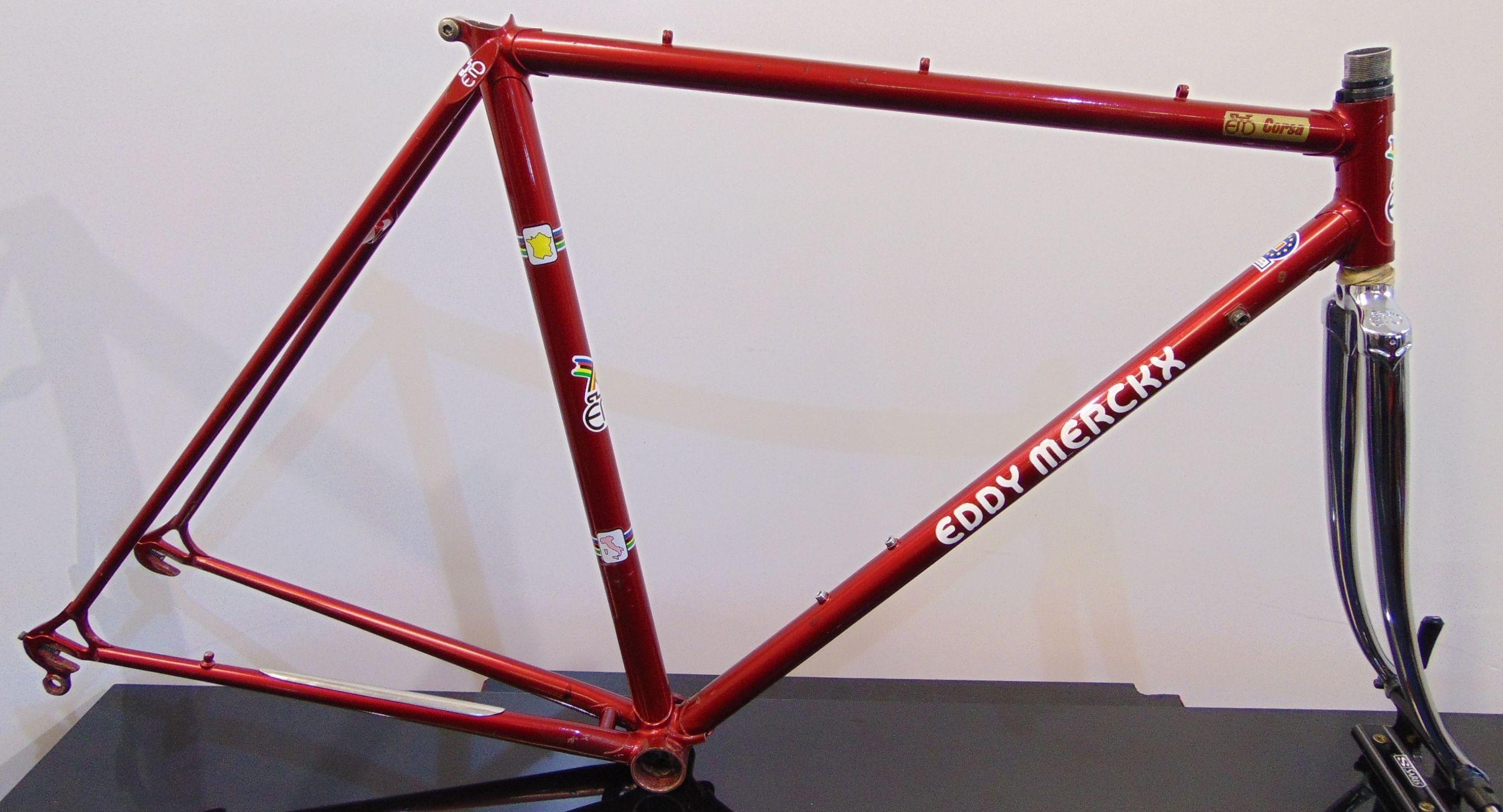 Vintage Eddy Merckx Corsa 51cm Columbus SL   Campagnolo frame frameset De  Rosa f7ac21b5e
